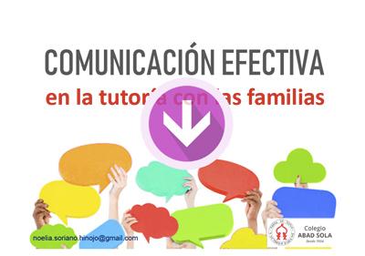 Noelia Soriano - La tutoría