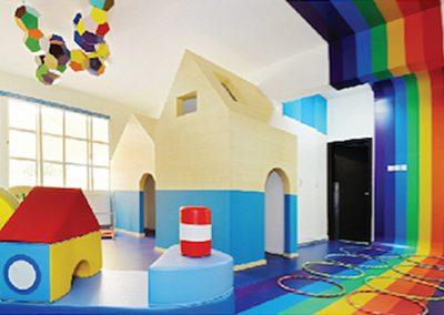 Zona común primaria infantil