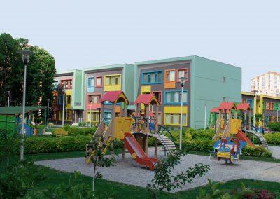 Exterior escuela colores pintura
