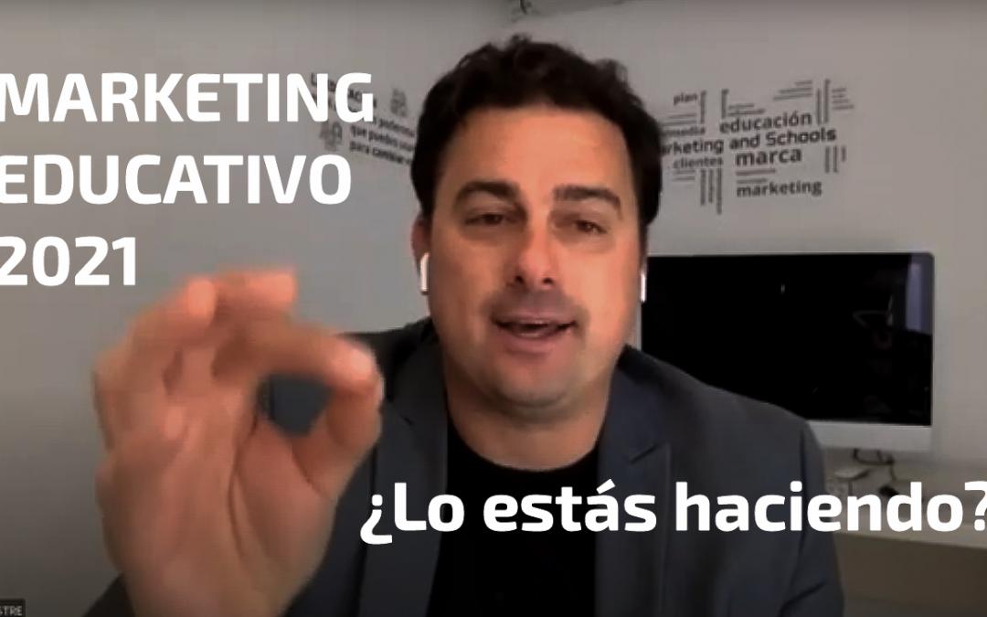 Marketing para colegios en 2021