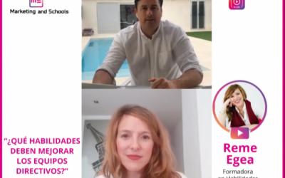 Comunicación y marketing educativo: Directos ciclo2. Colegios y educación infantil.